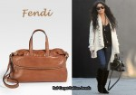 In Vanessa Hudgens' Closet - Fendi Unzipped Zip It Messenger Bag