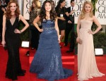 Glee Girls @ 2011 Golden Globe Awards