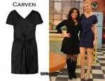 In Gwyneth Paltrow's Closet - Carven Front Knot Dress