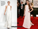 Hailee Steinfeld In Prabal Gurung - 2011 Golden Globe Awards