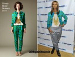 Iman In Chris Benz - Sirius XM's Martha Stewart Living Radio