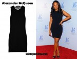 In Jennifer Hudson's Closet – Alexander McQueen Lace-Back Dress