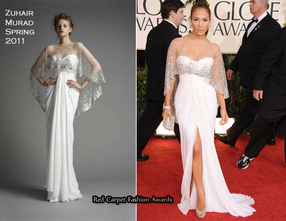 0babbeeb0542 Jennifer Lopez In Zuhair Murad – 2011 Golden Globe Awards. Most Refreshing  Award