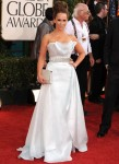 Jennifer Love Hewitt In Romona Keveza – 2011 Golden Globe Awards