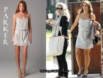 In Jennifer Love Hewitt's Closet - Parker Snake Sequin Dress