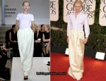 Tilda Swinton In Jil Sander - 2011 Golden Globe Awards