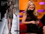 Kate Hudson In Valentino - The Graham Norton Show