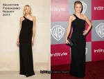 Kristen Bell In Salvatore Ferragamo – 2011 InStyle/Warner Brothers Golden Globes Party