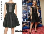 In Kylie Minogue's Closet - David Koma Dress