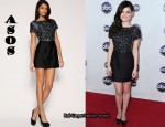 In Lucy Hale's Closet - ASOS Embellished 60s Shift Dress