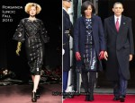 Michelle Obama In Roksanda Ilincic - President Hu Jintao of China State Visit To Washington DC