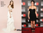 Mila Kunis In Nina Ricci - 2011 Critics' Choice Awards