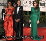 Best Dressed Of The Week - Michelle Obama In Alexander McQueen & Angelina Jolie In Atelier Versace