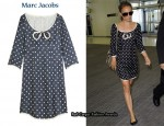In Natalie Portman's Closet - Marc Jacobs Polka Dot Dress