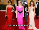 2011 SAG Awards Most Worn Designer: Oscar de la Renta