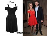 In Diane Kruger's Closet - Preen Dress