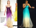 Queen Latifah In Edition by Georges Chakra - 2011 People's Choice Awards