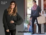 In Halle Berry's Closet - Riller & Fount Pattin Oversized Long-Sleeved Raglan Tee