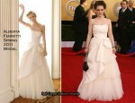 Winona Ryder In Alberta Ferretti Bridal - 2011 SAG Awards