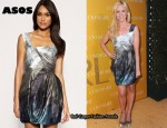 In Brittany Snow's Closet - ASOS Apocalypto Dress