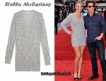 In Cameron Diaz Closet - Stella McCartney Paillette V-Neck Sweater Dress