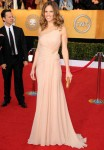 Hilary Swank In Versace - 2011 SAG Awards