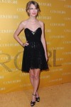 Taylor Swift In Mark & James by Badgley Mischka – CoverGirl Cosmetic's 50th Anniversary Party