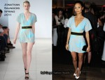 Thandie Newton In Jonathan Saunders - InStyle Best of British Talent BAFTA Party