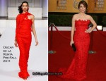 Tina Fey In Oscar de la Renta - 2011 SAG Awards