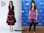 "Zooey Deschanel In Marc Jacobs - ""My Idiot Brother"" 2011 Sundance Film Festival Premiere"