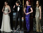 The Looks Anne Hathaway Wore Whilst Presenting The 2011 Oscars