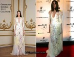 Carine Roitfeld In Givenchy Couture – amfAR New York Gala To Kick Off Fall 2011 Fashion Week