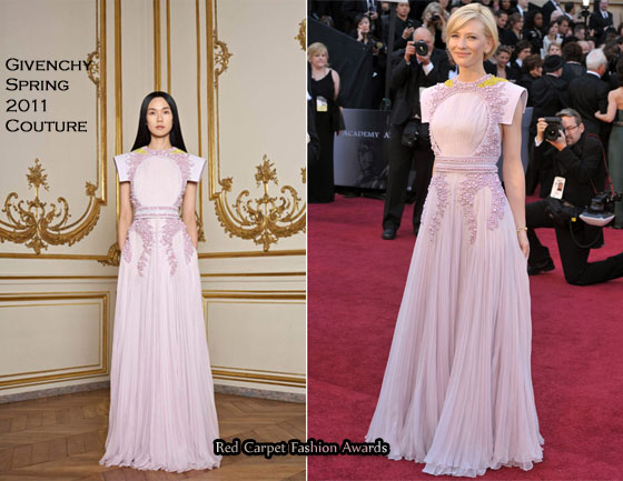 Cate Blanchett In Givenchy Couture – 2011 Oscars