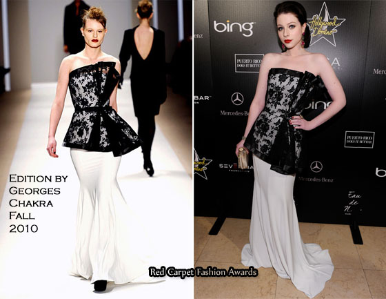 7f06474a72a8 Michelle Trachtenberg In Edition by Georges Chakra - Hollywood ...