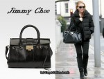 In Kylie Minogue's Closet - Jimmy Choo 'Rosalie' Tote