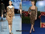 "Brooklyn Decker In Dolce & Gabbana - ""Just Go With It"" New York Premiere"