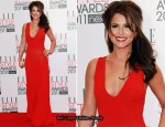 Cheryl Cole In Alexander McQueen - 2011 Elle Style Awards