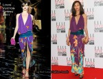 Thandie Newton In Louis Vuitton - 2011 Elle Style Awards