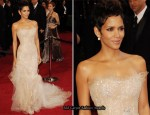 Halle Berry In Marchesa - 2011 Oscars