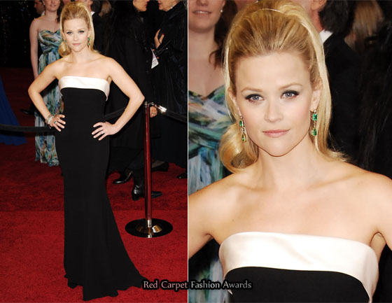 Reese Witherspoon 2017 Oscar Red Carpet