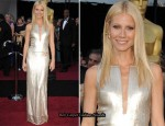 Gwyneth Paltrow In Calvin Klein - 2011 Oscars