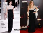 Lea Seydoux In Elie Saab Couture - 2011 Cesar Film Awards