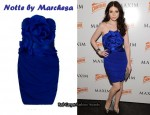 In Michelle Trachtenberg's Closet - Notte by Marchesa Ruffle Dress