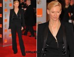 Tilda Swinton In Haider Ackermann - 2011 BAFTA Awards