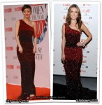 Who Wore Badgley Mischka Better? Tu Jingwei or Audrina Patridge
