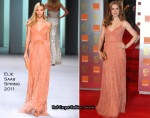 Amy Adams In Elie Saab - 2011 BAFTA Awards