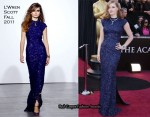 Amy Adams In L'Wren Scott - 2011 Oscars