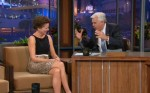 "Annette Bening In Giambattista Valli - ""The Jay Leno Show"""