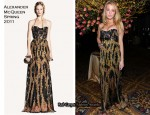 Blake Lively In Alexander McQueen - amfAR New York Gala To Kick Off Fall 2011 Fashion Week
