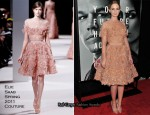 "Emily Blunt In Elie Saab Couture - ""The Adjustment Bureau"" New York Premiere"